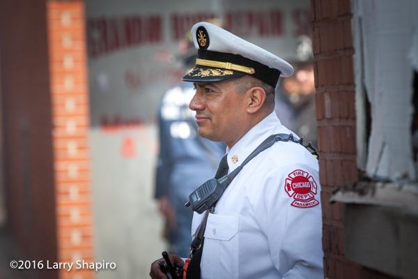 fire chief portrait