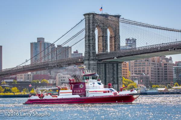 FDNY Fire Boat Marine 9 Firefighter II