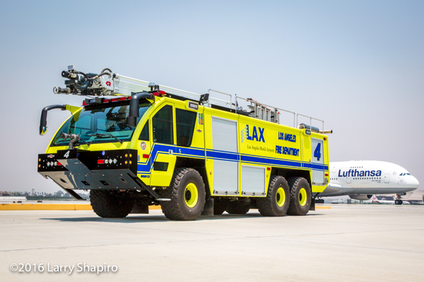 LAX ARFF 4 with an Airbus A380