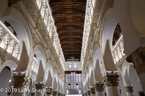 Historic church in Toledo Spain