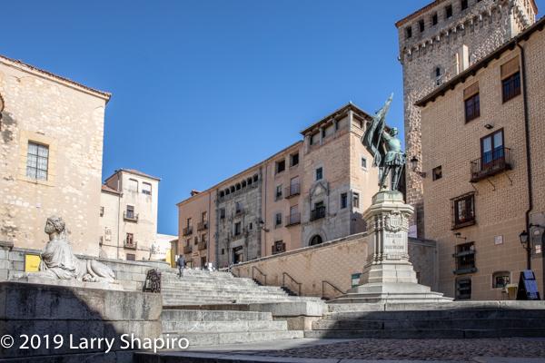 historic Segovia