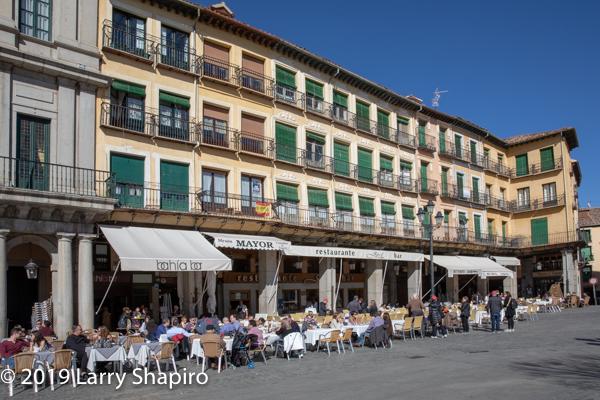 Playa Mayor in Segovia