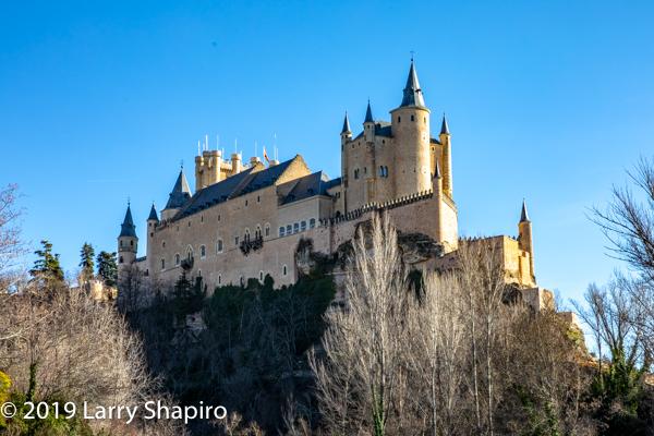 castle in Segovia