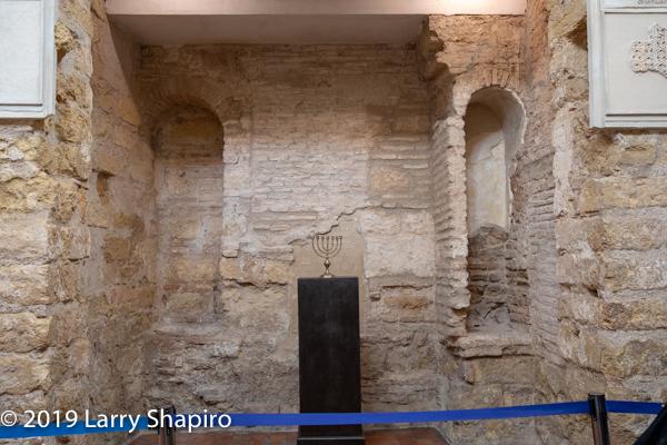 Maimonides temple in Cordoba