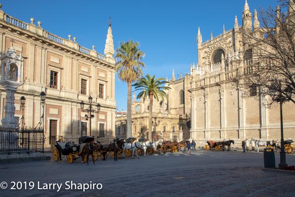 Great Church in Seville Spain