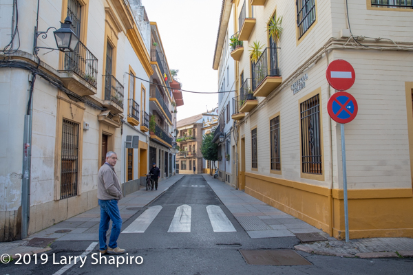 Beautiful street scene in Cordoba
