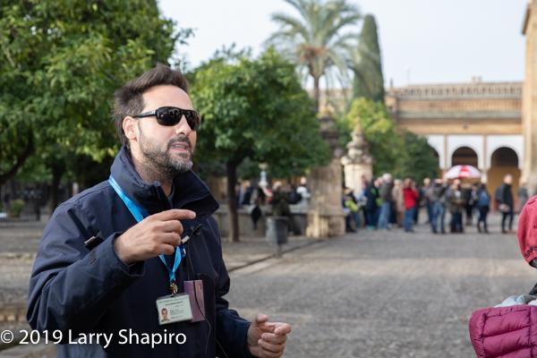 tour guide in Cordoba