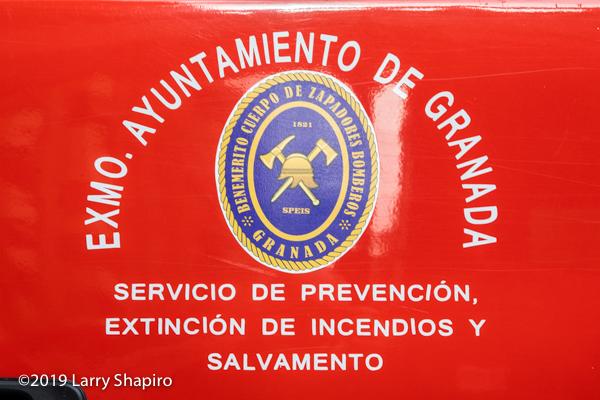 Bomberos de Granada, Spain