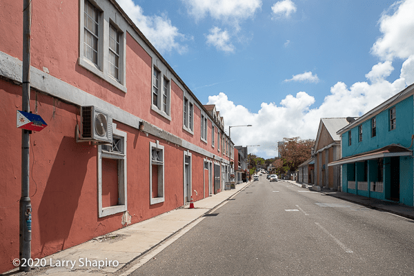 vacant buildings in Nassau The Bahamas