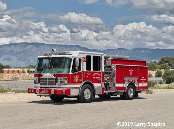 Ferrara Inferno fire engine