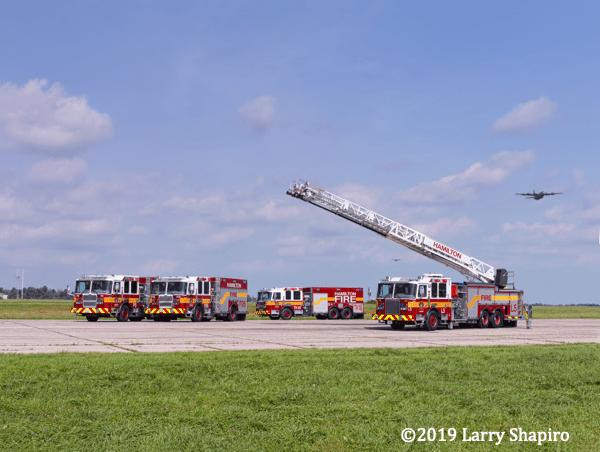 Hamilton Ontario fire trucks
