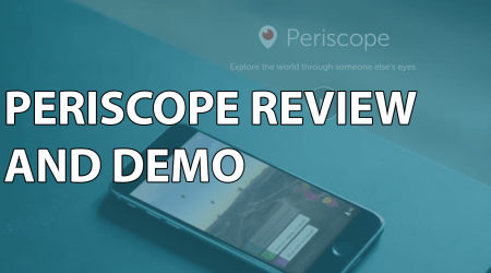 Periscope Review and Demo
