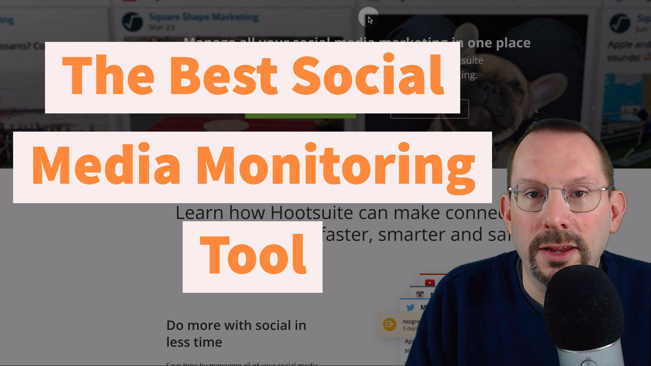 Hootsuite the best social media monitoring tool