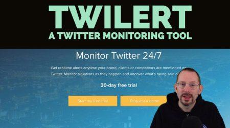 Twilert – A Twitter Monitoring Tool