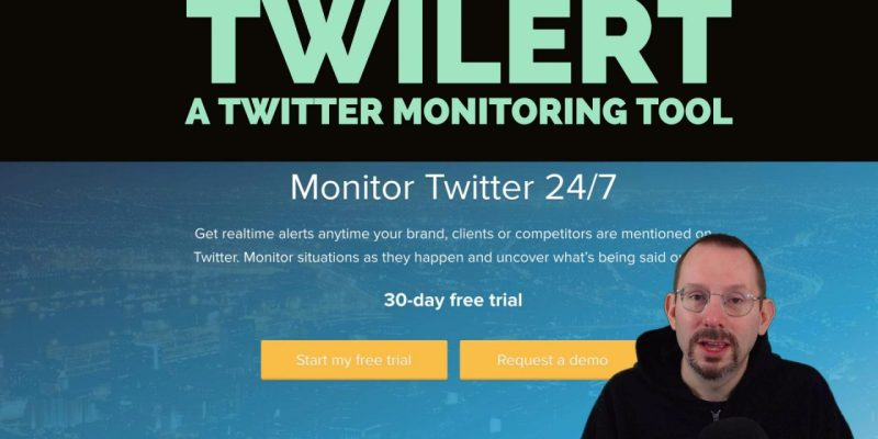 Twilert - A Twitter Monitoring Tool