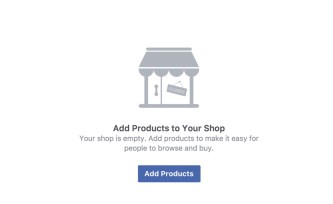 Add products to your Facebook shop