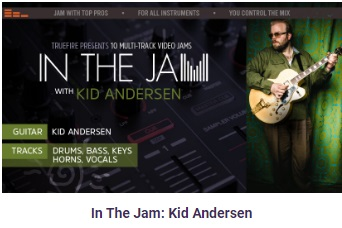 In the jam Kid Andersen