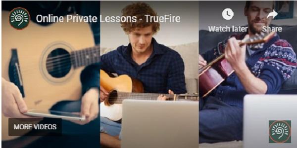 TrueFire Private Guitar Lessons