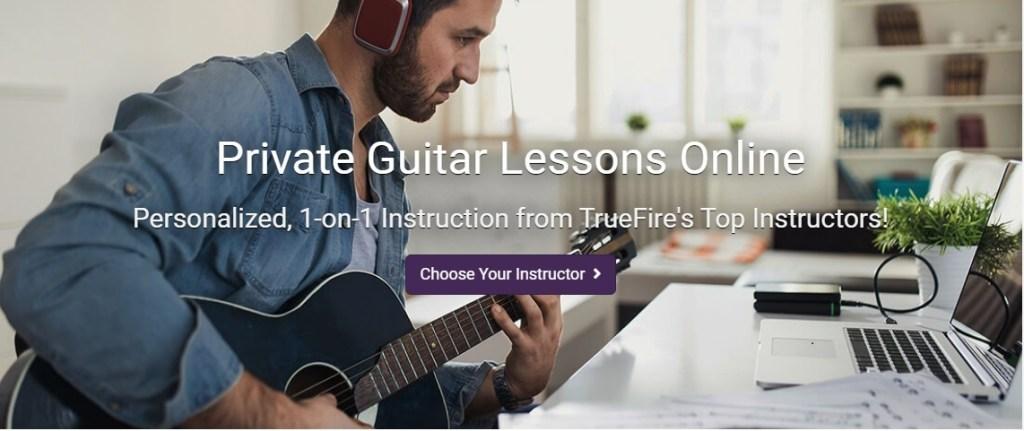 TrueFire Private Lessons