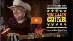 Ten Gallon Guitar