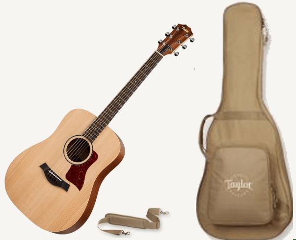 BBT Guitar, Gig Bag, Strape