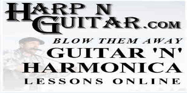Harp & Guitar Banner 600x300