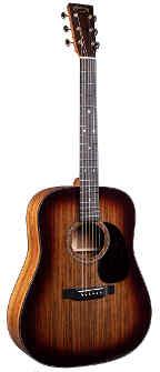 Martin Guitar D-16E Burst