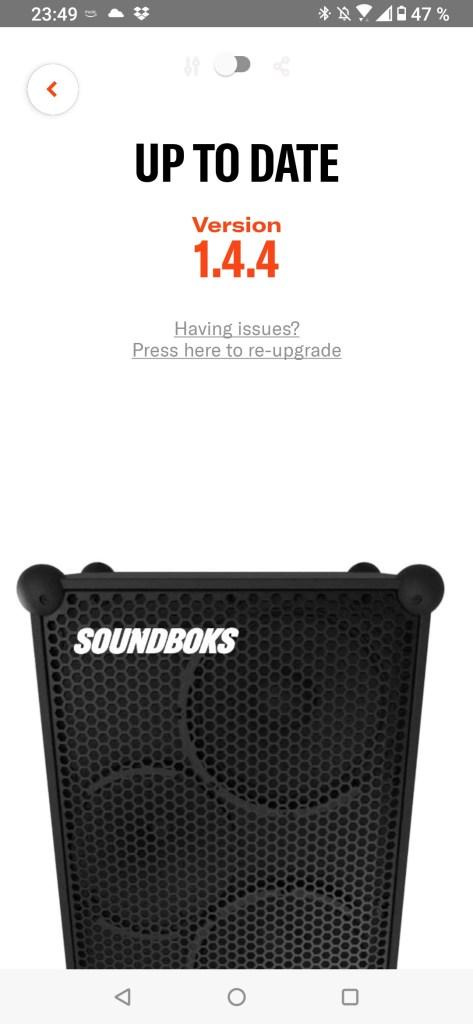 Die Neue Soundboks APP UPGRADE Dezember2020