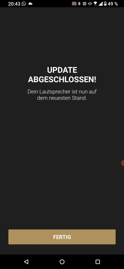 Die Marshall Voice App in Aktion