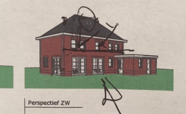 Plushuis klant Architect