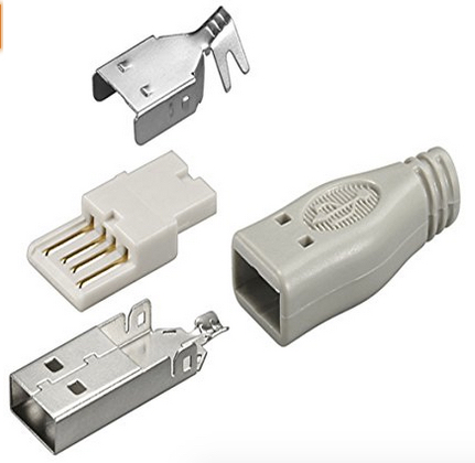USB-A Stecker Lötversion1