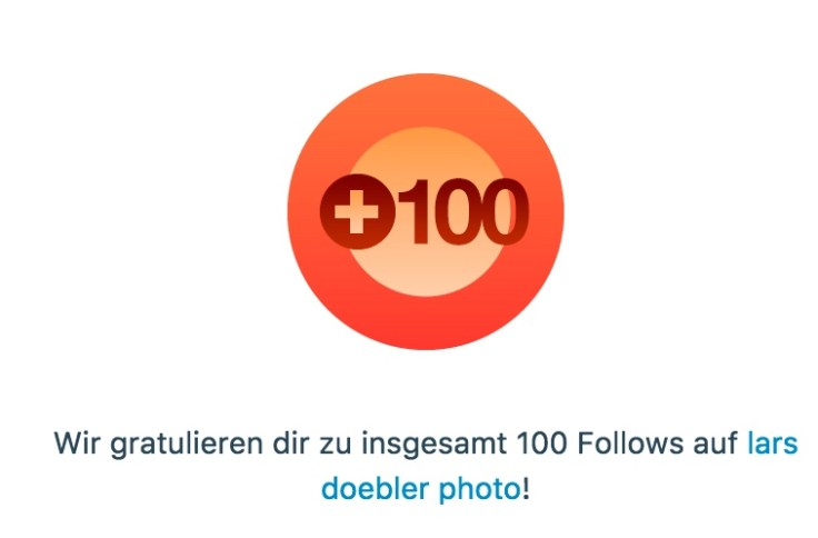 100 Follower