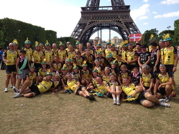 Team Rynkeby er ankommet til Paris
