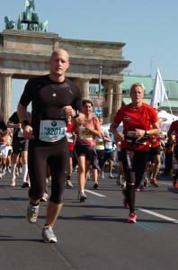 Brandenburger Tor - Berlin Marathon 2011