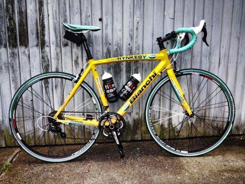 Team Rynkeby Bianchi cykel