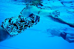 Et lite glimt av hverdagen, den 09.09.09 klokken 09.09 var de vanlige trimmerne i gang i svømmebassenget Gamlingen i Stavanger.