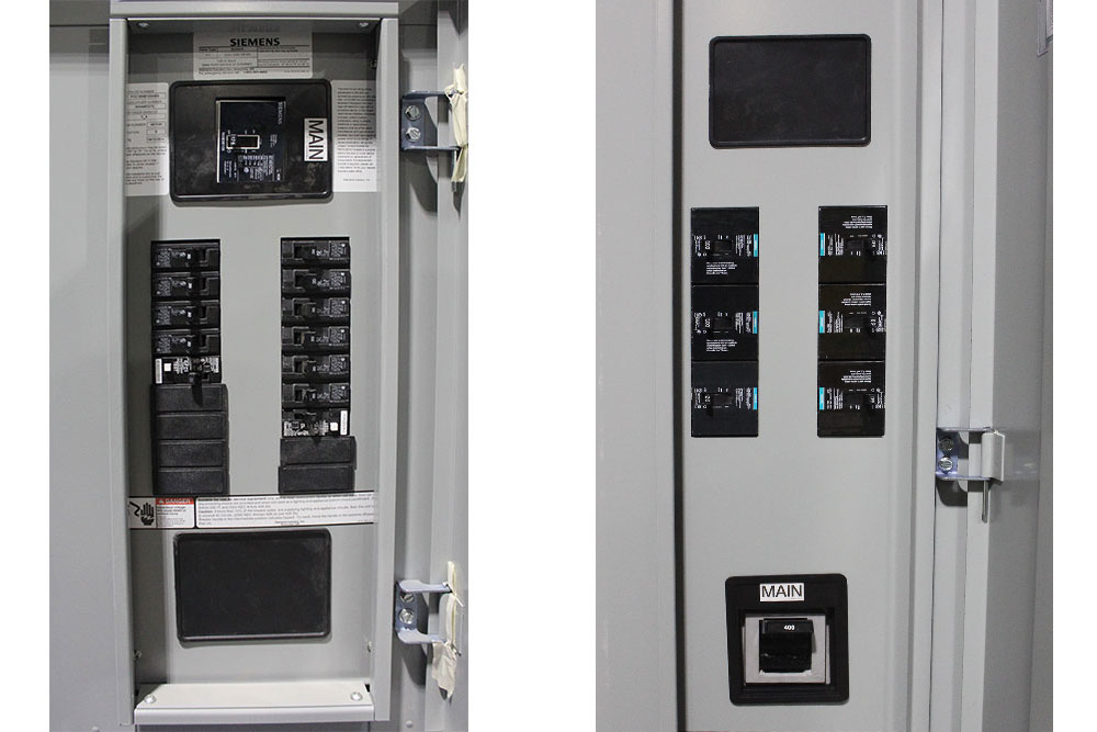 3 Phase Breaker Panel With 100 Amp Main