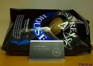 EH kaffekort