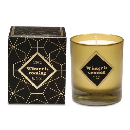 candle carambar gold
