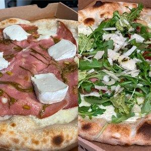 Pistachio & Pesto à Ambres par l'Art de la Pizza