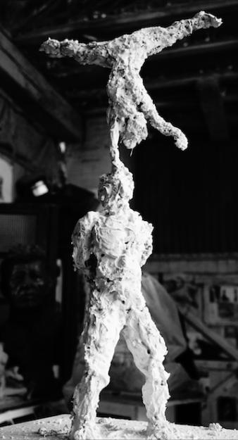 sculpture en plâtre - Lartigue 1