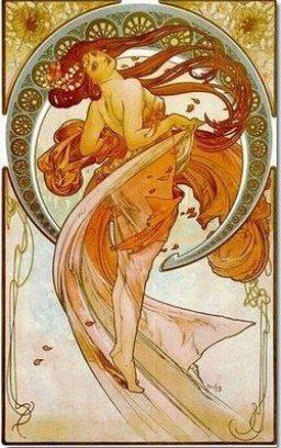 La Danse - Alfons Mucha
