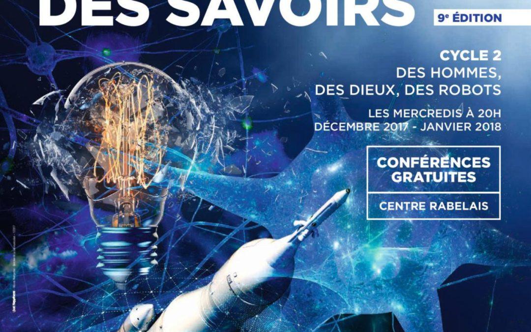 9ème édition Agora des Savoirs au Centre Rabelais à Montpellier