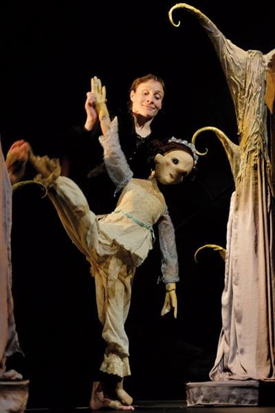 «Peau d'âne» façon cirque et marionnettes à découvrir au Théâtre du Grand Rond à Toulouse