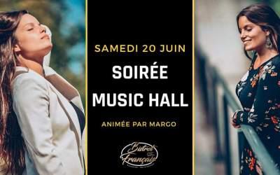 Margo en Concert Live le samedi 20 juin à 20h30 au Bistrot Français à Pérols