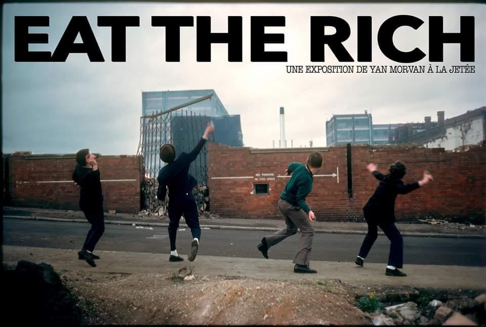«Eat the Rich», une expo de Yan Morvan à La Jetée à Montpellier