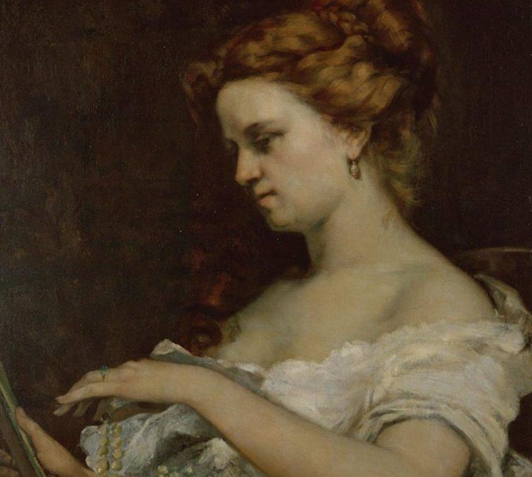 COURBET G. La dame aux bijoux