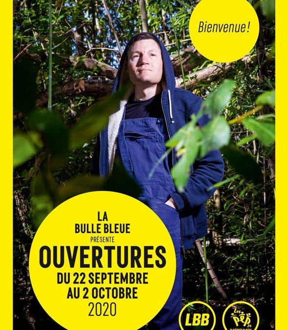 La 8ème édition d'Ouvertures à La Bulle Bleue se déroulera du 22 septembre au 2 octobre