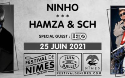 Une soirée rap programmée pour l'édition 2021 du festival de Nîmes
