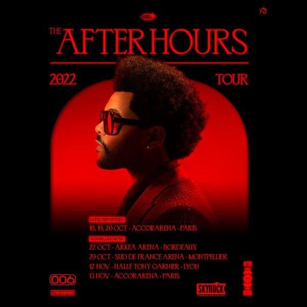 The Weeknd en concert à l'Arena de Montpellier en 2022 !